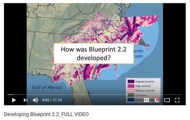 Landscape conservation design landscape conservation cooperative south atlantic lcc debuts video overview of blueprint 22 malvernweather Images