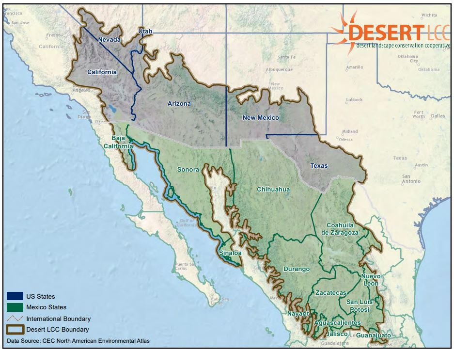 Mapping Ecoregions, Ecosystems & More in the Southwest U.S. ...