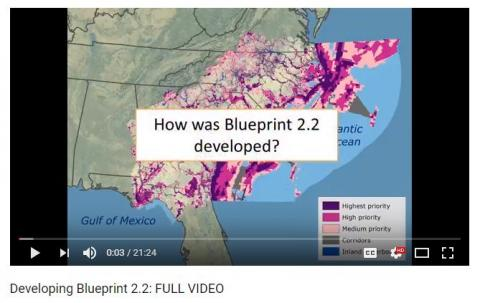 South atlantic lcc debuts video overview of blueprint 22 screen capture of the blueprint video opening image malvernweather Images