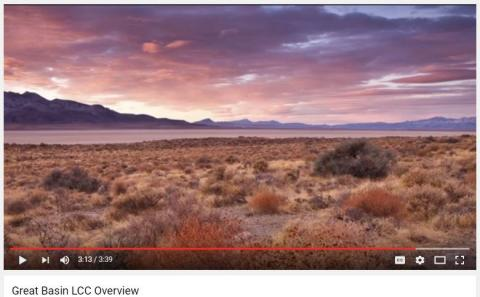 Great Basin LCC overview video