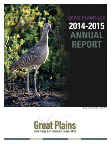 cover of the Great Plains LCC 2014-2015 Annual Report