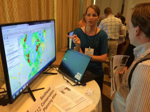 A demonstration of the latest tools offered by the Gulf of Mexico Alliance.