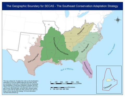 SECAS Map