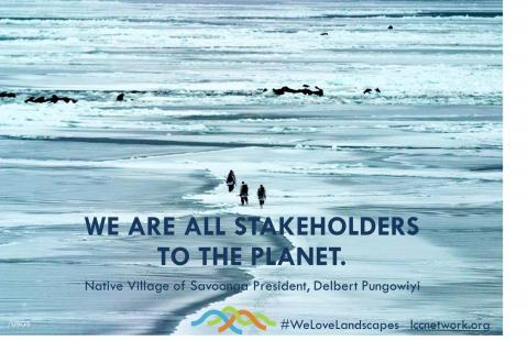 We are all stakeholders of the planet