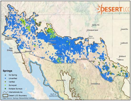 desert lcc springs map