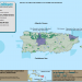 Map of the Caribbean LCC's two pilot delivery watersheds