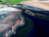 Satellite image of the Colorado River Delta