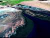 Satellite image of the Colorado River Delta
