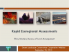 BLM's Rapid Ecological Assessments webinar