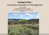 Ecological Sites: Classifying Landscapes for Management webinar