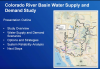 Overview of the Colorado River Basin Water Supply and Demand Study webinar
